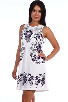 ХИТ продаж: летнее белое платье из хлопка Натали