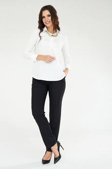 Черные брюки прямого кроя Angela Ricci со скидкой